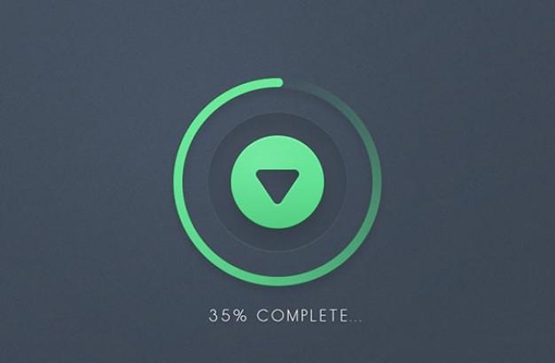 Android Circular Progress Bar With Percentage Programmatically