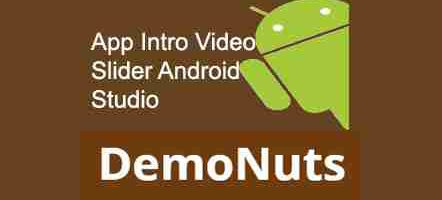 app intro animation video slider android
