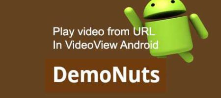 load and play video from url android