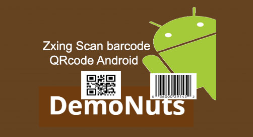 Scan Barcode And QRcode Using Zxing Android Studio
