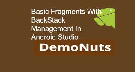 Android Fragments Kotlin Backstack Example Tutoral