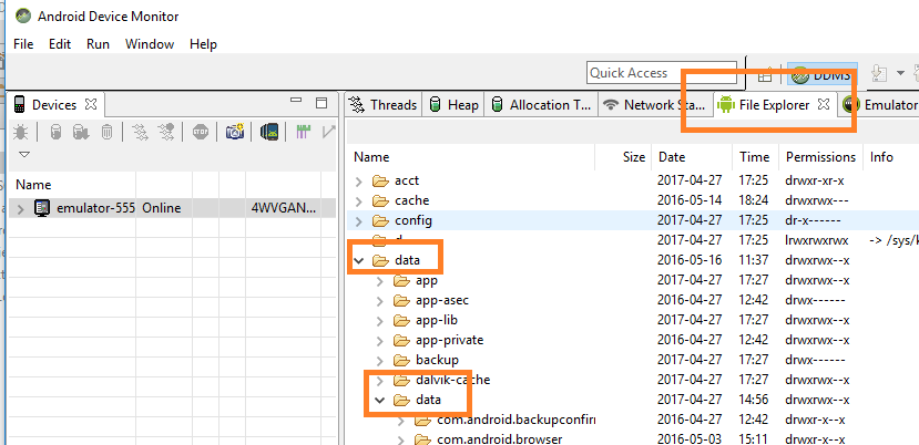 Browse Or View SQLite Database In Android Studio Example