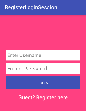 Android Login And Registration With PHP MySQL Session Management