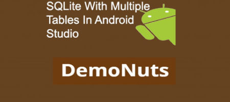 sqlite with multiple tables in android