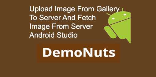 Upload Image From Gallery In Android Studio To PHP Server Example