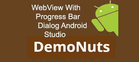 webview progress bar dialog android