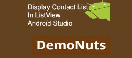 get contact list in android kotlin