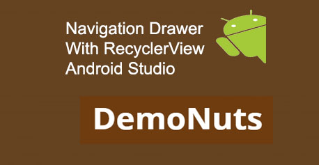 Navigation Drawer Tab Layout Archives Demonuts