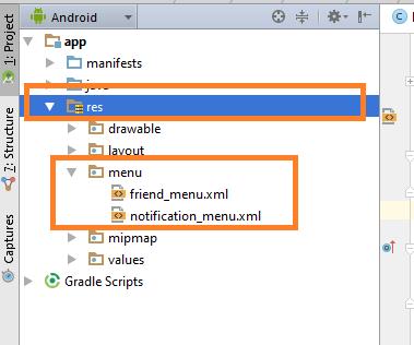 Android Navigation Drawer With Toolbar/Actionbar Menu Items
