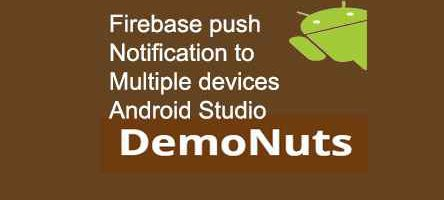 android firebase push notification