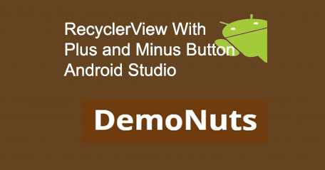 RecyclerView Button Android Studio Example Get Click Position